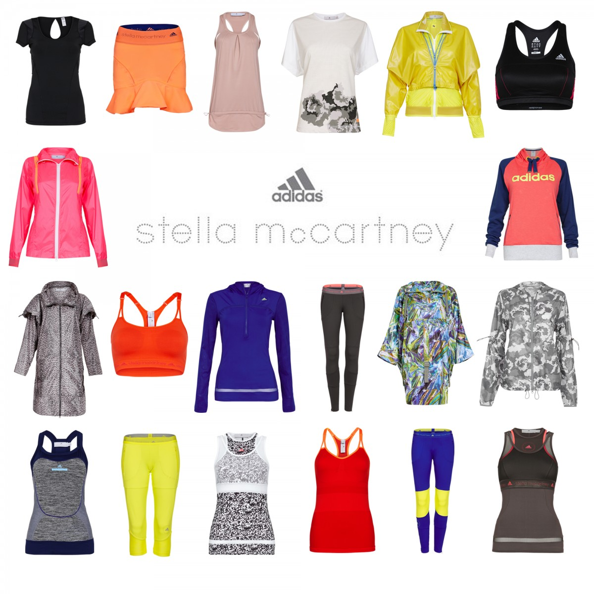 IMAGES THAT SELL SHOOT STELLA McCARTNEY ADIDAS