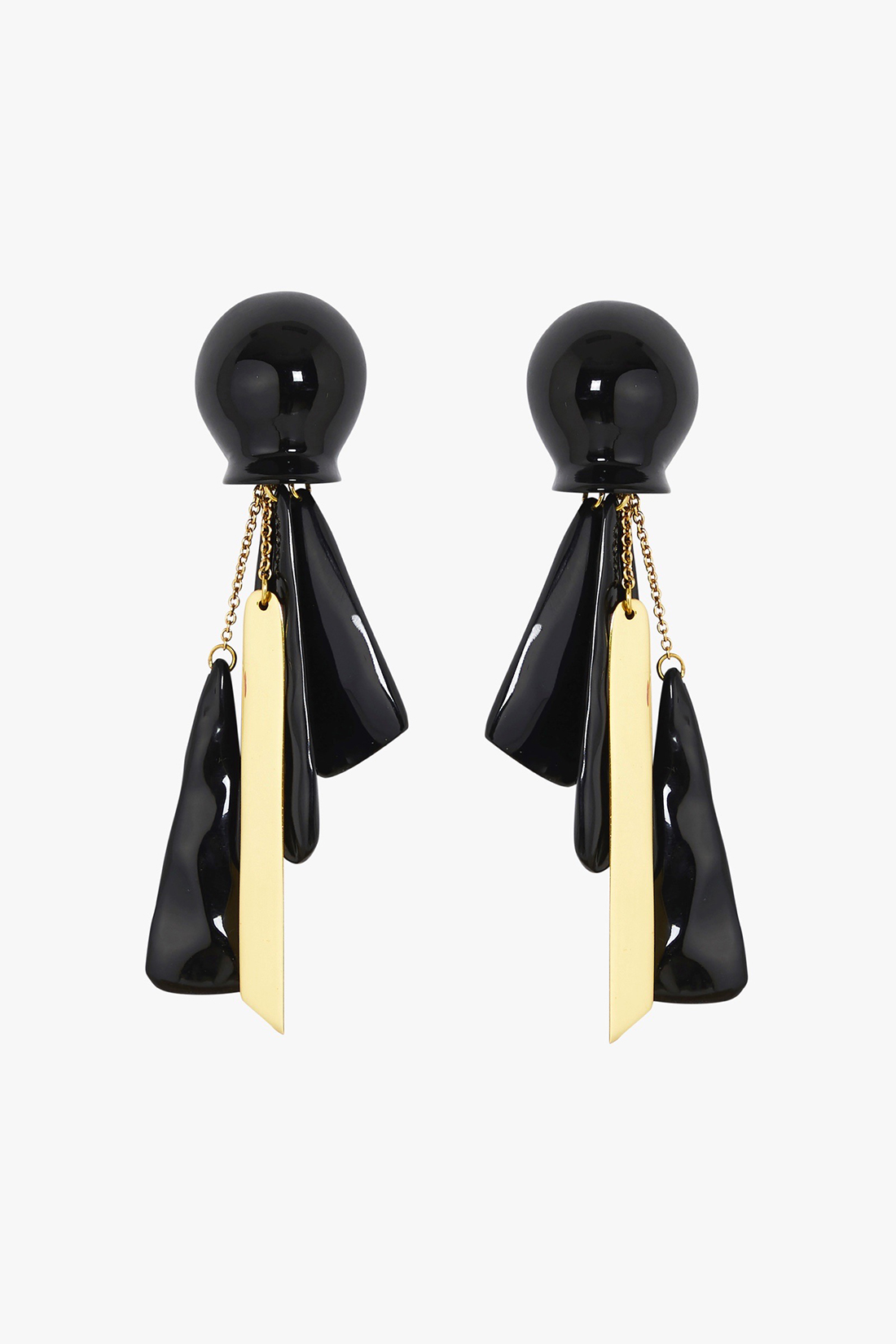 structured journey earring_a6r17007_black