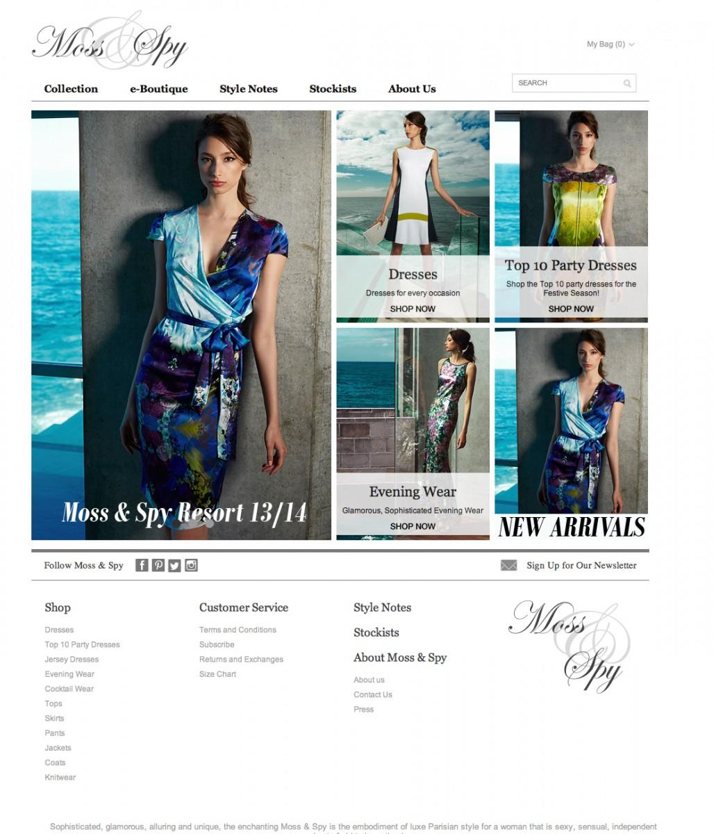 MOSS & SPY'S WEB SITE