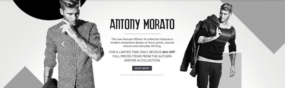 Antony Morato – David Jones