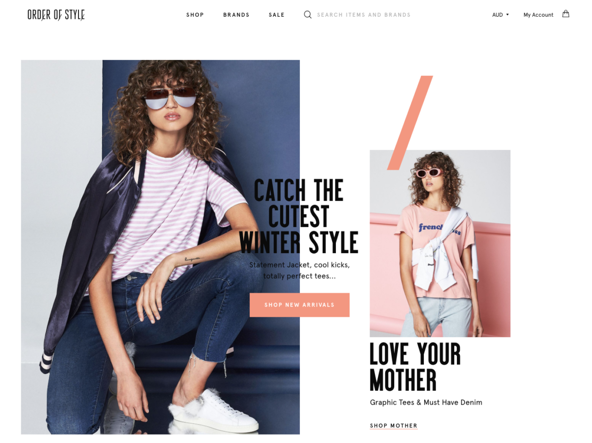 Order Of Style – NEW LOOK